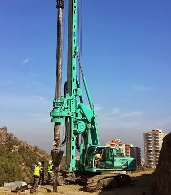 Jintai SD25W Bored Piling Machine