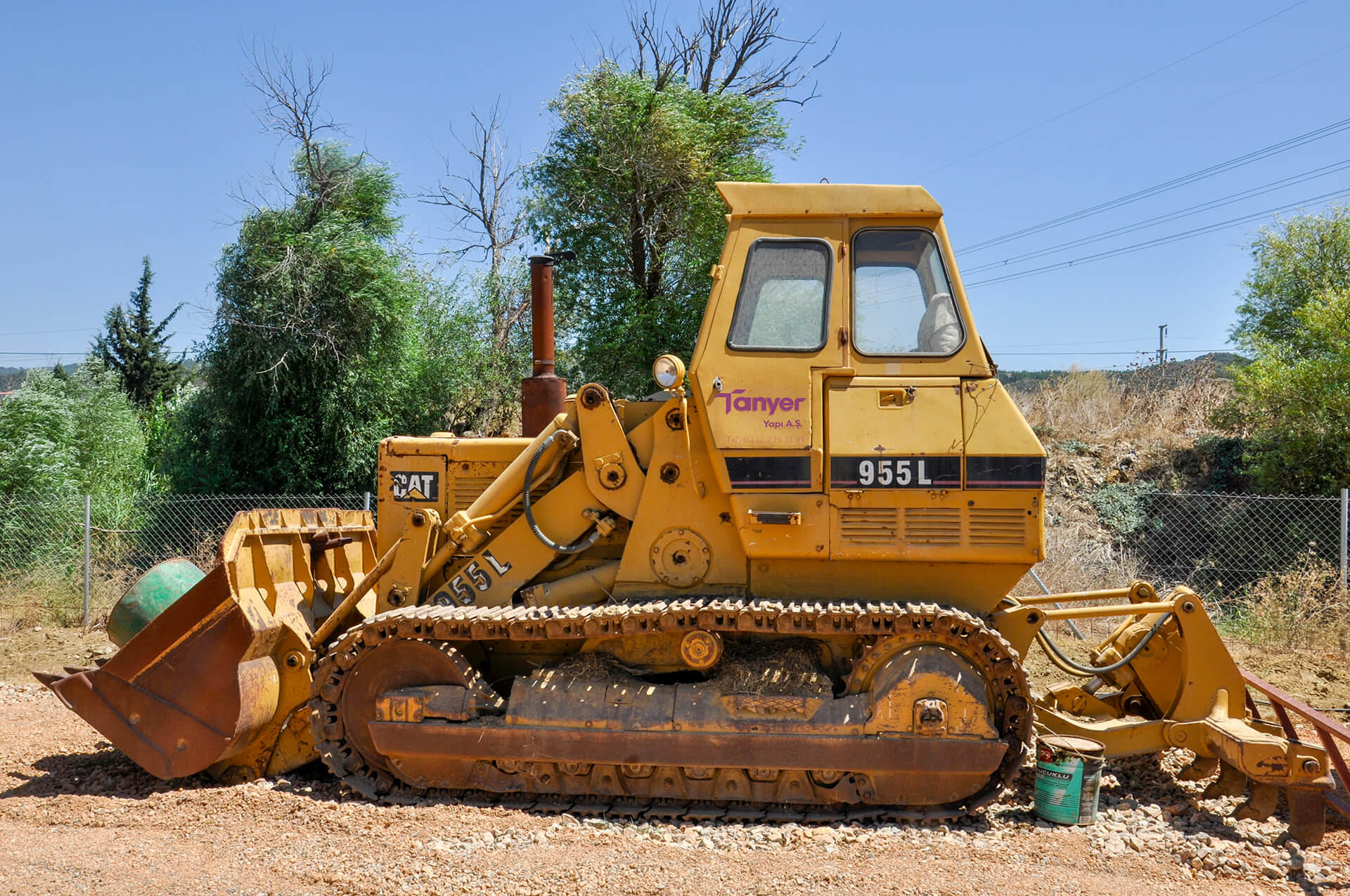 CAT 955 Paletli Dozer